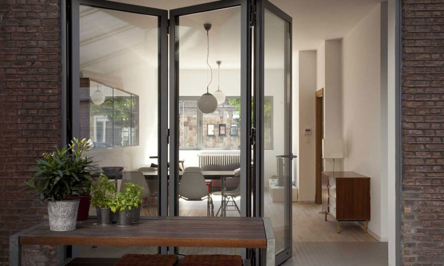 Aluminium bifold doors can help make the most of your garden in winter