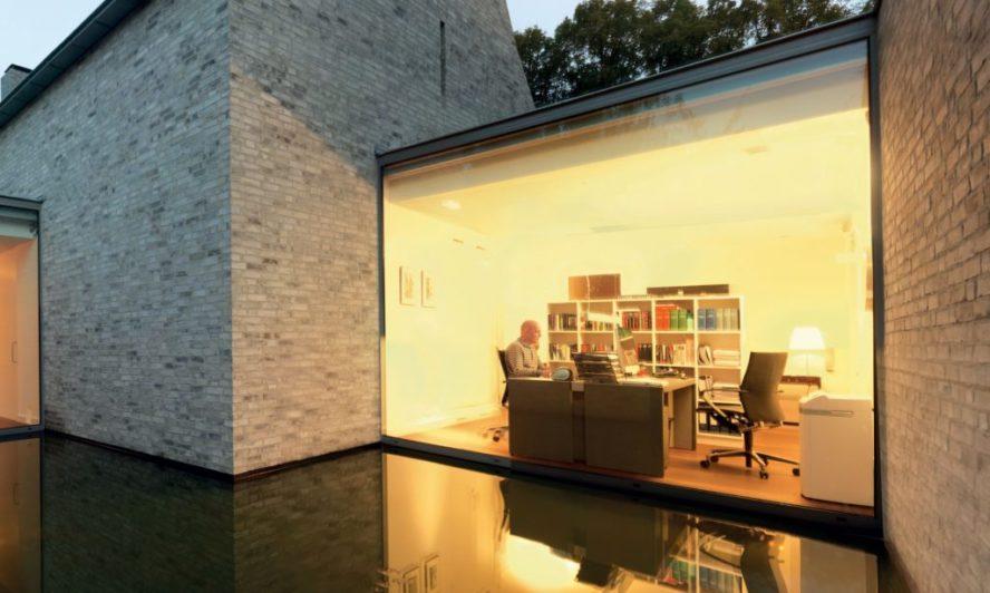 office panoramic window