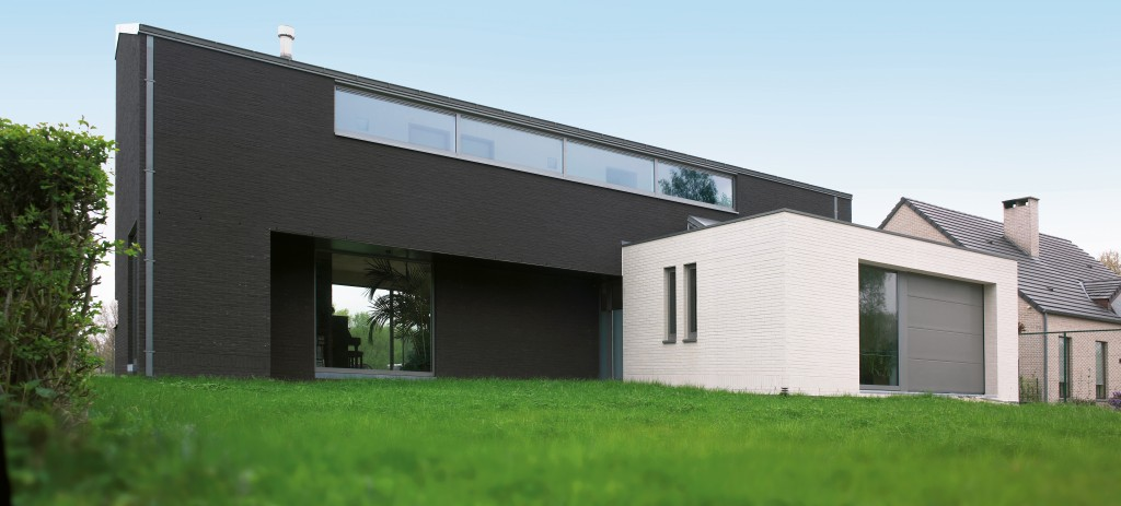 Windows and doors in a modern home