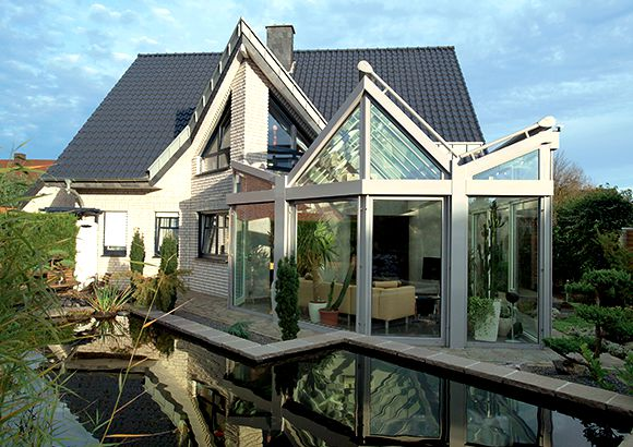 Conservatory - complement arcitecture