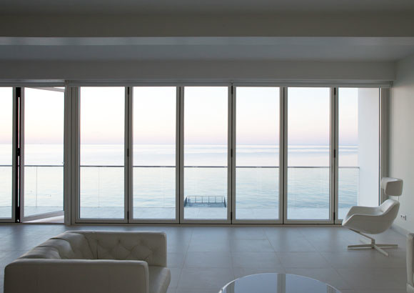 Folding Patio Doors Reynaers-at-Home