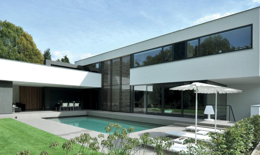 Aluminium Windows and doors in a grand home