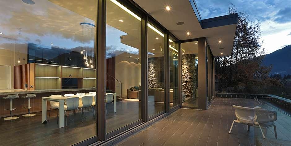 Aluminium doors suitable for Passivhaus