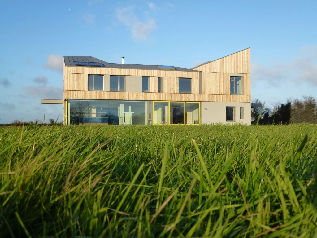 Vast windows and doors help this Irish home gain Passivhaus status