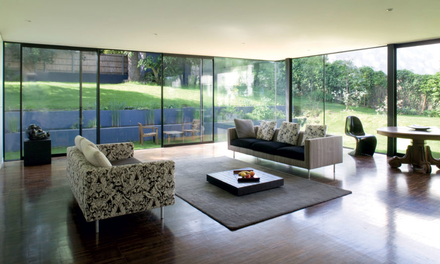 Slim frame windows keep your home bathed in natural light - even in winter