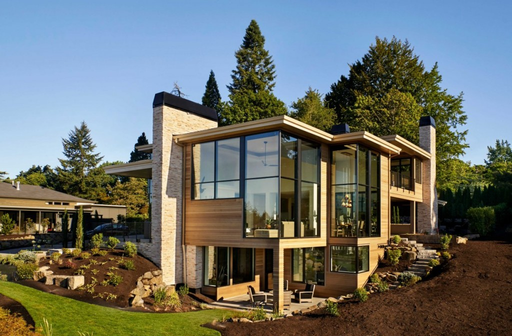 joie de vivre house Windows and doors for the ultimate hillside home