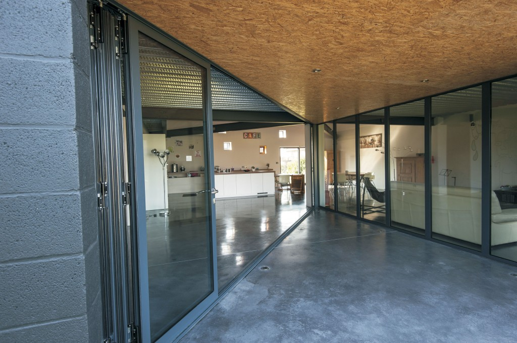 Converting outbuildings with aluminium bifold doors