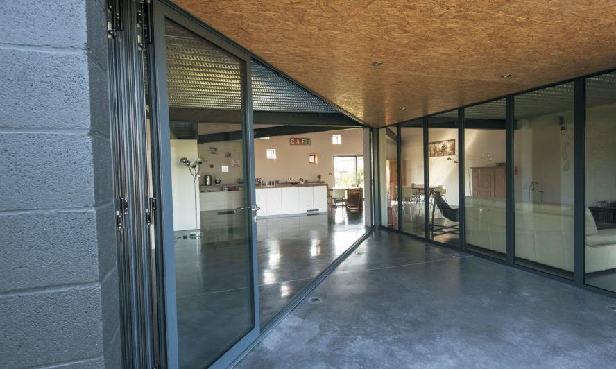 Converting outbuildings with aluminium bifold doors