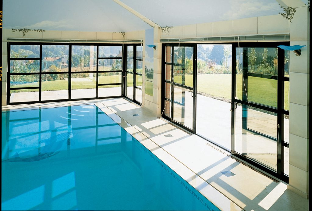 Sliding patio doors – the perfect solution for any pool house