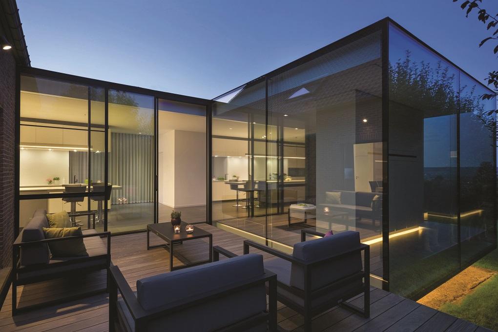 Architect: Crahay & Jamaigne Architectes Photo: Samuel Defourny