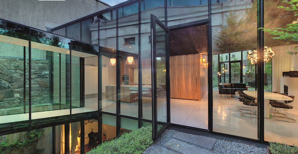 Windows and doors for broken-plan living