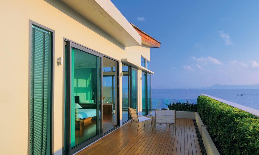 Windows and doors to suit waterside living