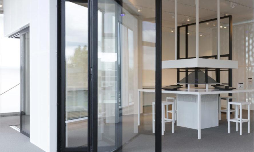 bifold doors with flush threshold