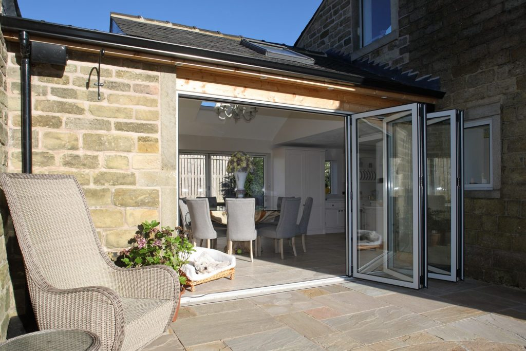 external folding doors barn conversion