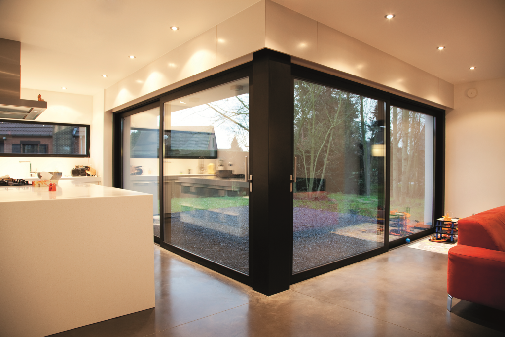 external sliding doors