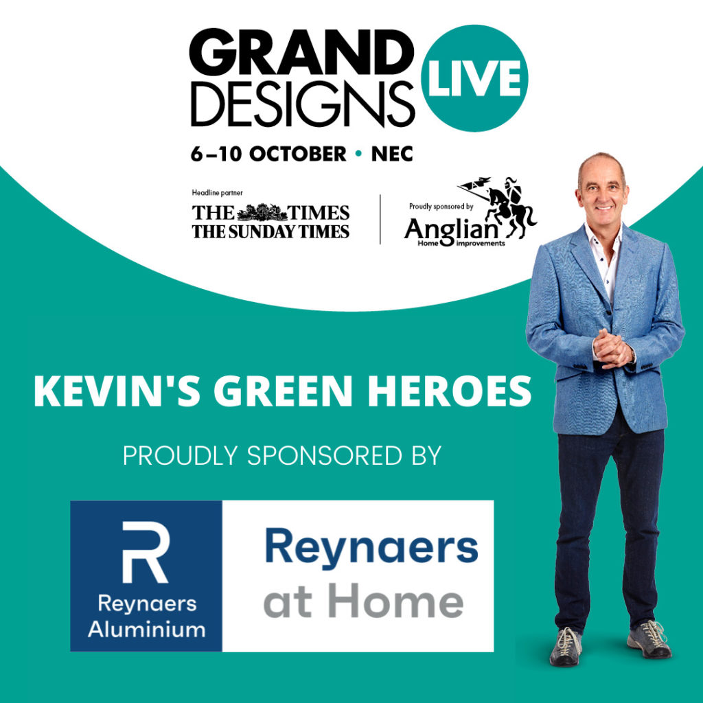 Grand Designs Live Sponsored by Reynaers at Home